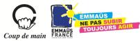 Partenaires Association Emmaus Coup de Main France