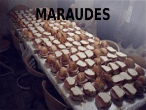 Programme de maraude en hiver - sandwichs - Fondation Un Coup de Main d'Emmaüs Iasi