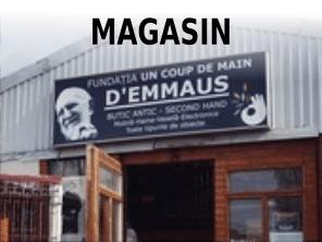 Magasin d'occasion d'Emmaüs Iasi - Strada Sf Petru Movila